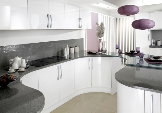 high gloss kitchen designers & fitters: east kilbride & glasgow