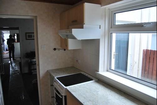 Milbourne Alabaster Kitchen With Duropal Worktops